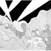 New Yorker April 7th, 2008 Art Print
