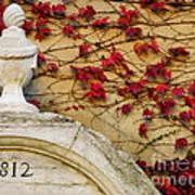1812 Fountain Art Print