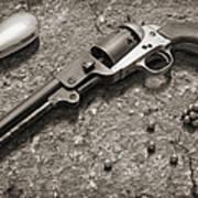 1851 Navy Revolver 36 Caliber - 2 Art Print