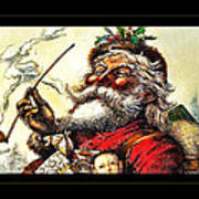 1881 Santa Art Print