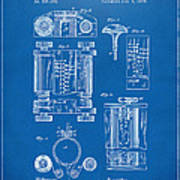 1889 first computer patent blueprint art print by nikki marie smith 1889 first computer patent blueprint poster malvernweather Choice Image