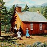 1896 School House Art Print