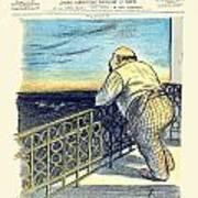 1897 - Le Rire Journal Humoristique Paraissant Le Samedi Magazine Cover - July 31 - Color Art Print