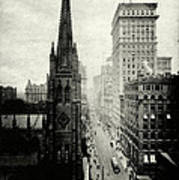 1898 Broadway New York City Art Print