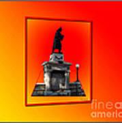 1898 Firemen Memorial Art Print