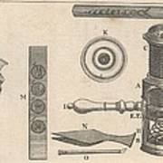 18th Century Microscope, Artwork Art Print by Science Photo Library