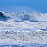 Hurricane Storm Waves Art Print
