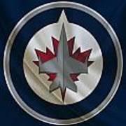 Winnipeg Jets Art Print