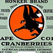 1900 Honker Cranberries Art Print