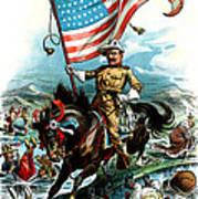 1902 Rough Rider Teddy Roosevelt Art Print