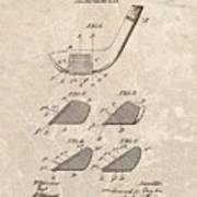 1903 Golf Club Patent Art Print