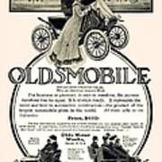 1904 - Oldsmobile Automobile Advertisement Art Print