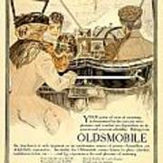 1909 - Oldsmobile Advertisement - Color Art Print