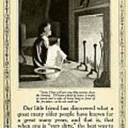 1910 - Ivory Soap Christmas Proctor And Gamble Advertisement  Art Print