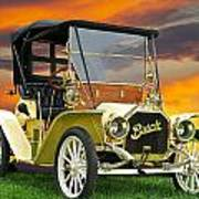 1910 Buick Roadster - Runabout Art Print