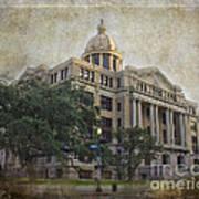 1910 Harris County Courthouse  Art Print