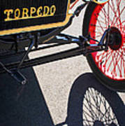 1911 Ford Model T Torpedo Grille Emblem Art Print by Jill Reger