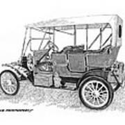 1911 Maxwell A B Art Print