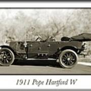 1911 Pope Hartford W Art Print