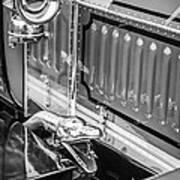 1912 Rolls-royce Silver Ghost Rothchild Et Fils Style Limousine Snake Horn -0711bw Art Print
