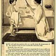 1913 - Proctor And Gamble - Ivory Soap Advertisement Art Print
