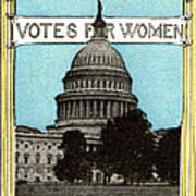 1913 Votes For Women Art Print