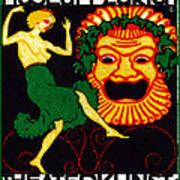1914 Zurich Theater Arts Festival Art Print