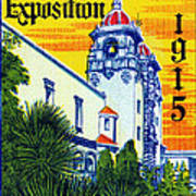 1915 San Diego Exposition Art Print