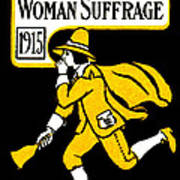 1915 Vote Yes On Woman's Suffrage Art Print by Historic Image