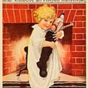 1917 - Modern Priscilla Magazine Cover - December Art Print