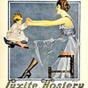 1918 - Luxite Hosiery Advertisement - Color Art Print