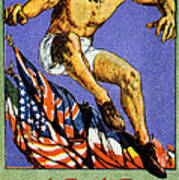 1919 Allied Games Poster Art Print