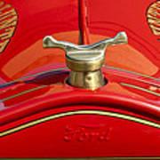1919 Ford Volunteer Fire Truck Print by Jill Reger