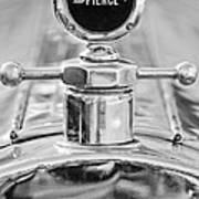 1920 Pierce-arrow Model 48 Coupe Hood Ornament - Motometer Art Print