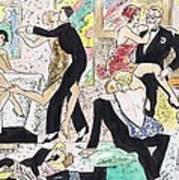 1920s Party 2 Art Print