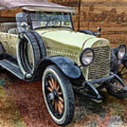 1921 Hudson-featured In Vehicle Enthusiasts And Comfortable Art And Photography And Textures Groups Art Print