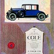 1922 - Cole 890 - Advertisement - Color Art Print