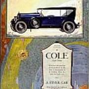 1923 - Cole 890 - Advertisement - Color Art Print