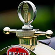 1923 Bugatti Type 23 Brescia Lavocat Et Marsaud Hood Ornament Art Print