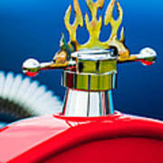 1923 Ford T-bucket Aftermarket Hood Ornament Art Print