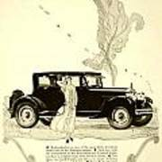 1924 - Rickenbacker Automobile Advertisement Art Print