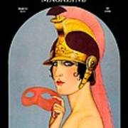 1924 - Theatre Magazine Cover - Color Art Print