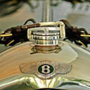 1925 Bentley 3-liter 100mph Supersports Brooklands Two-seater Radiator Cap Art Print by Jill Reger