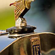 1925 Isotta Fraschini Tipo 8a S Corsica Boattail Speedster Hood Ornament Art Print by Jill Reger