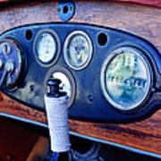 1925 Stutz Series 695h Speedway Six Torpedo Tail Speedster Dashboard Instruments Art Print