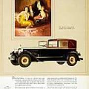 1926 - Packard Automobile Advertisement - Color Art Print