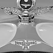 1926 Duesenberg Model A Boyce Motometer 2 Art Print