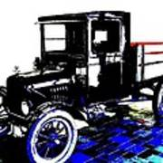 1926 Ford Model T Stakebed Art Print
