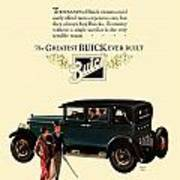1927 - Buick Automobile - Color Art Print