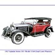 1927 La Salle Dual Cowl Phaeton Art Print
